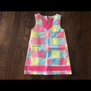 Girls Vineyard Vines whale patchwork dress size 4T